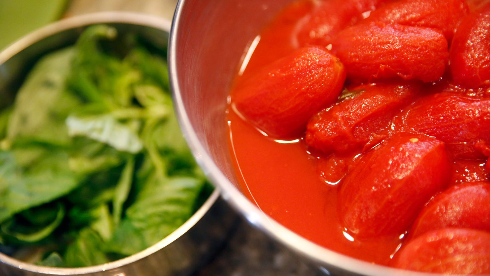 Julian Barsotti highly recommends Alta Cucina brand canned tomatoes for his tomato sauce.