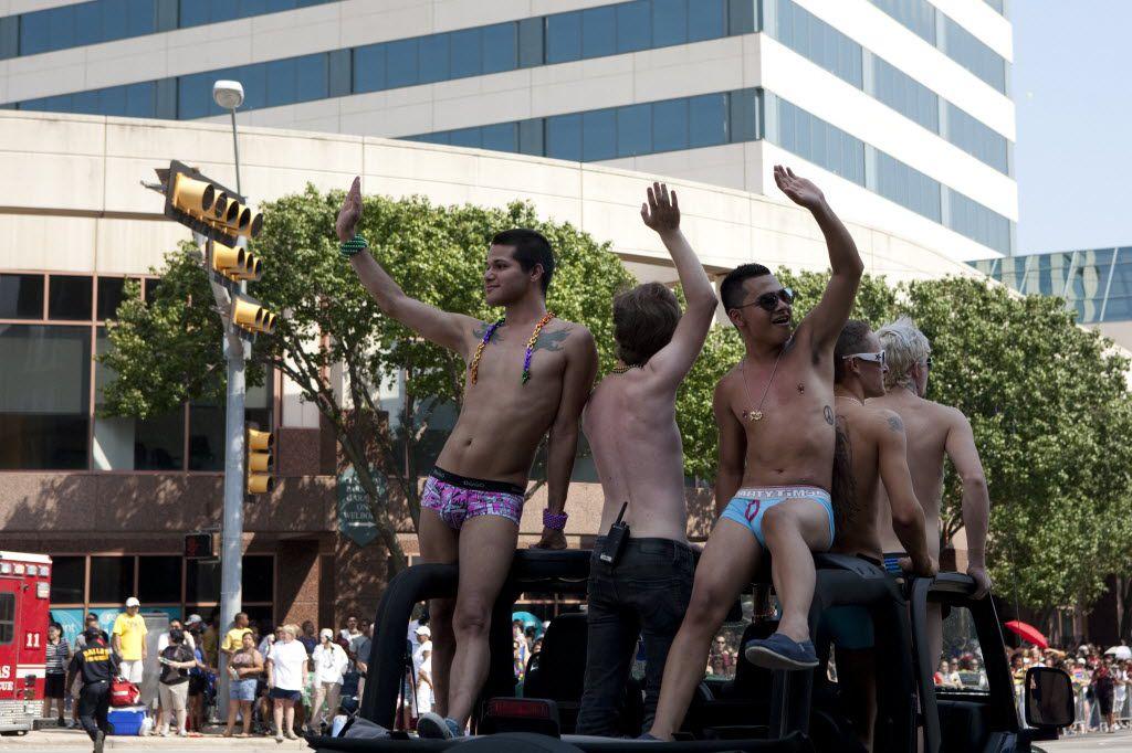 2008 parade Dallas pride gay
