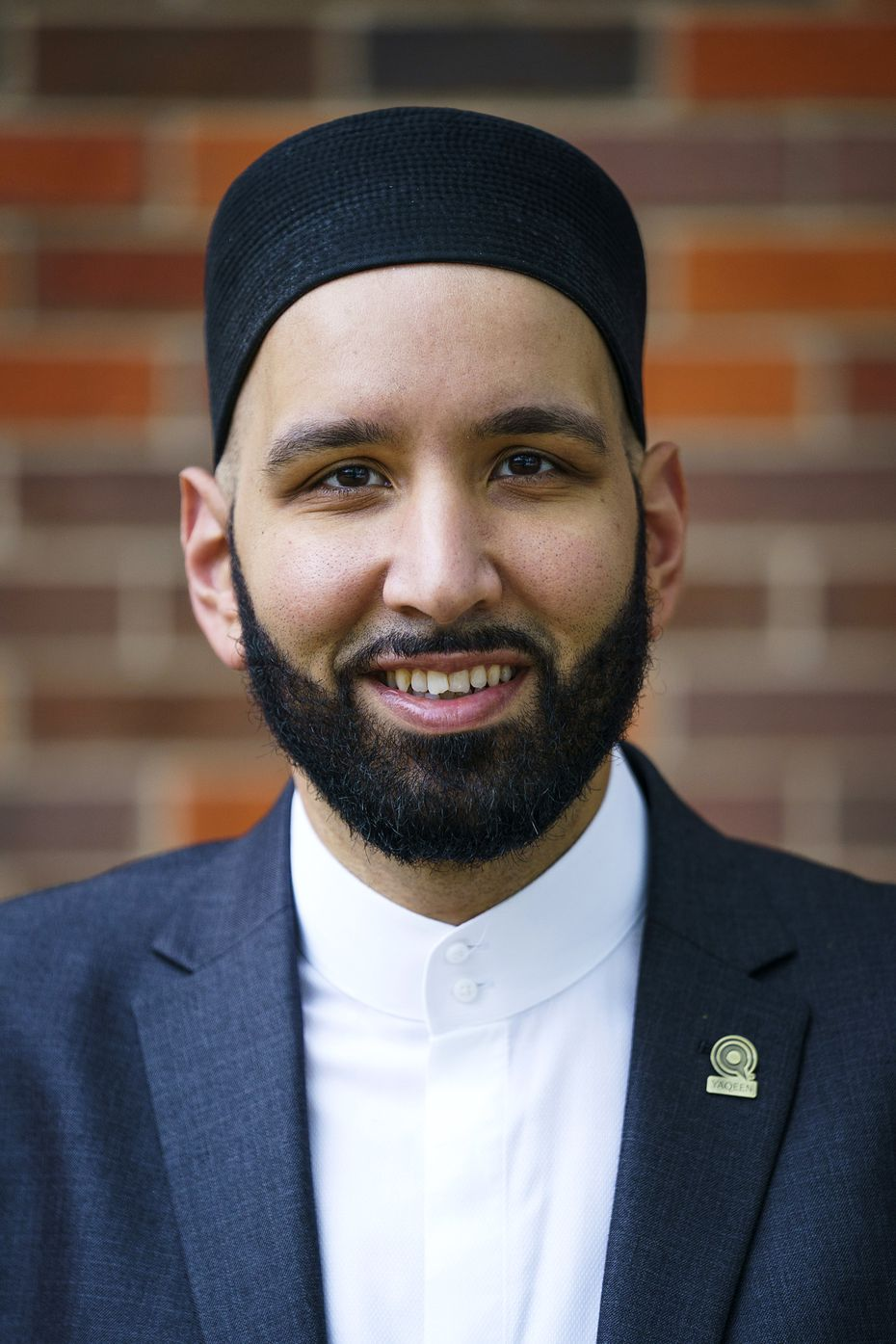 Iman Omar Suleiman photographed at Wilshire Baptist Church on Friday, March 27, 2020, in Dallas. (