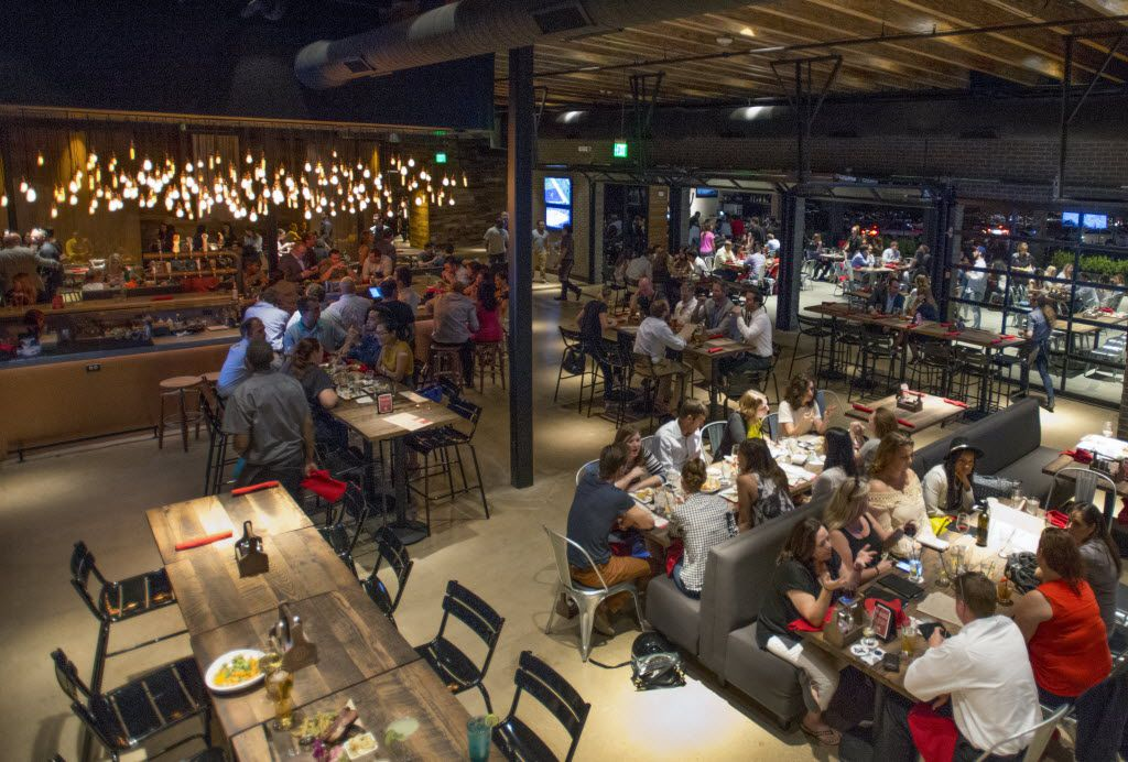 Happiest Hour in Dallas is huge: 12,000 square feet.