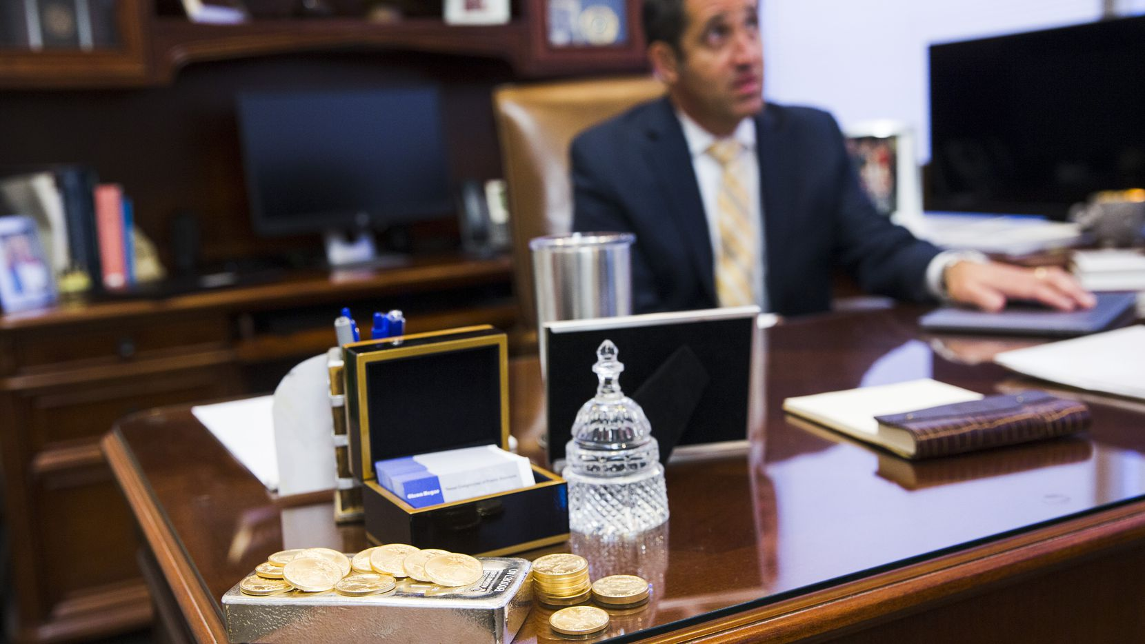 "A rosier revenue forecast issued Monday by Texas Comptroller Glenn Hegar assures that funding boosts for public schools will continue, and may let lawmakers buck up the pension fund of state workers and help higher education as they wrap up the next state budget this month. Hegar, shown in a 2018 file photo, said the state economy has ""accelerated."""