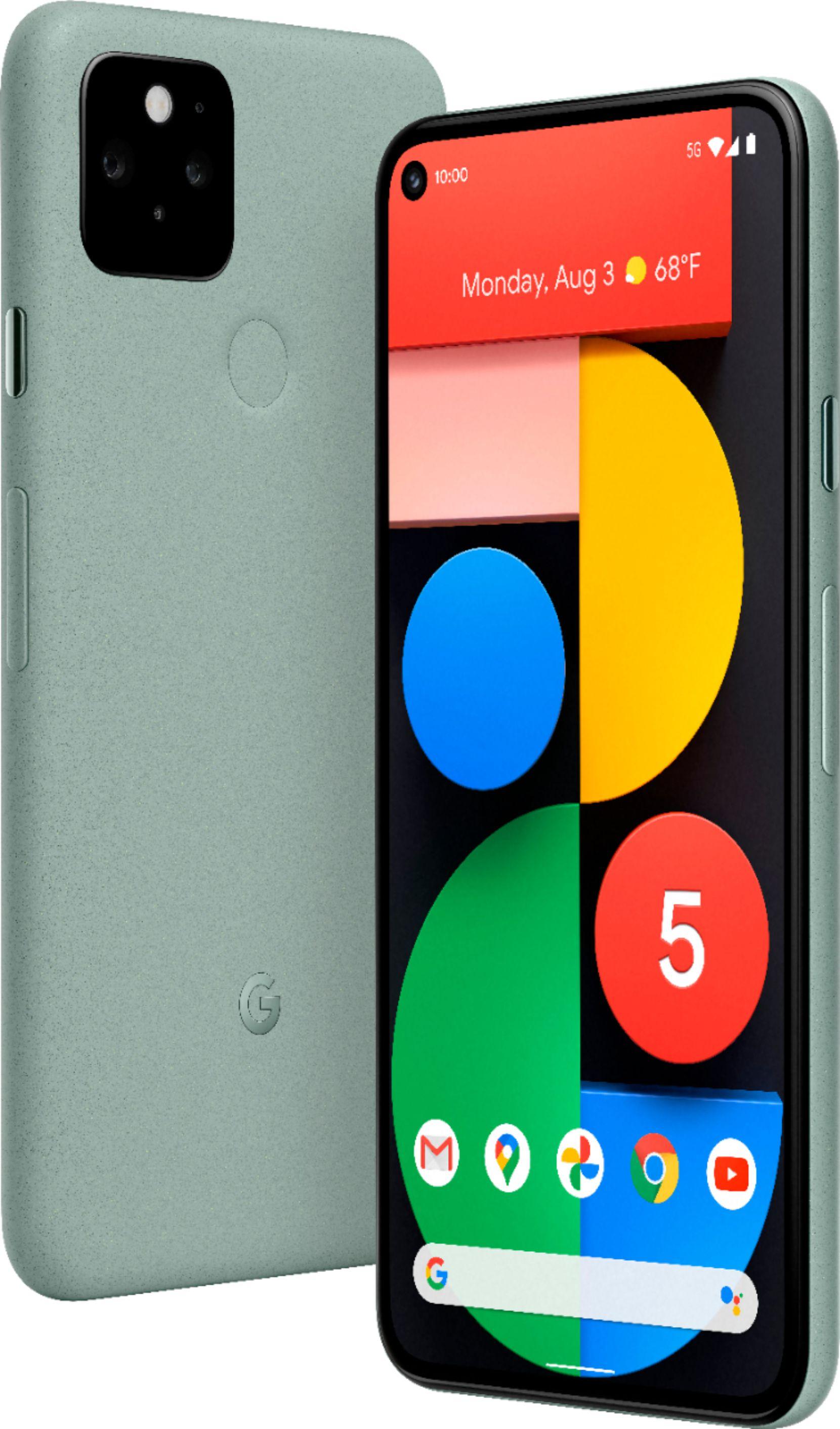 The Google Pixel 5 5G.