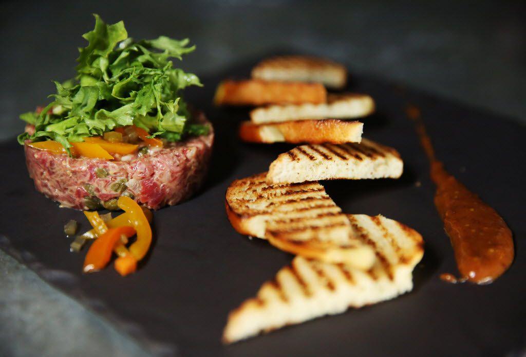 Akaushi beef tartare