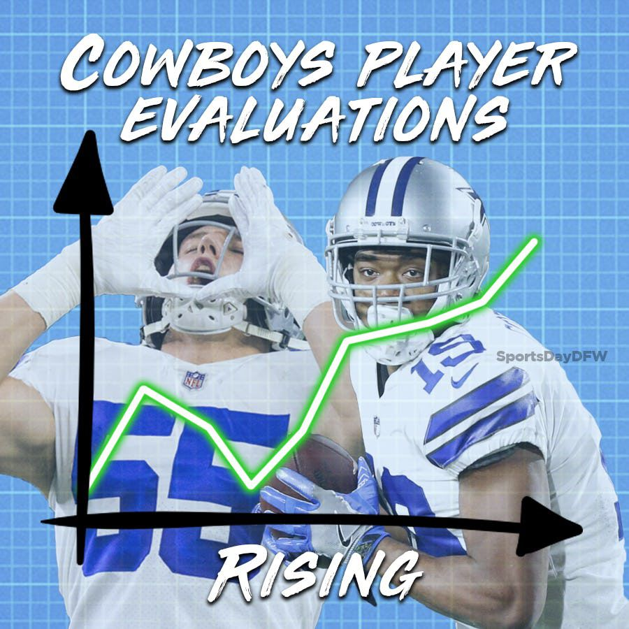 Amari Cooper and Leighton Vander Esch are among the Cowboys players trending up at the end of the 2018 season. Who are the others?