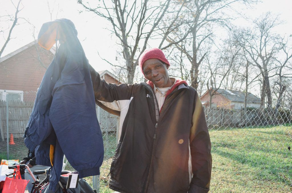 Coated in Compassion works with The Human Impact to deliver coats.