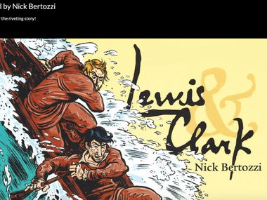 Mesquite teacher Laura Claybrook rolled out a website based on Nick Bertozzi's graphic novel about Lewis and Clark as teachers continue to look for innovative solutions to distance learning.