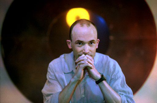 Playwright Erik Ehn at Undermain Theatre in 1997.