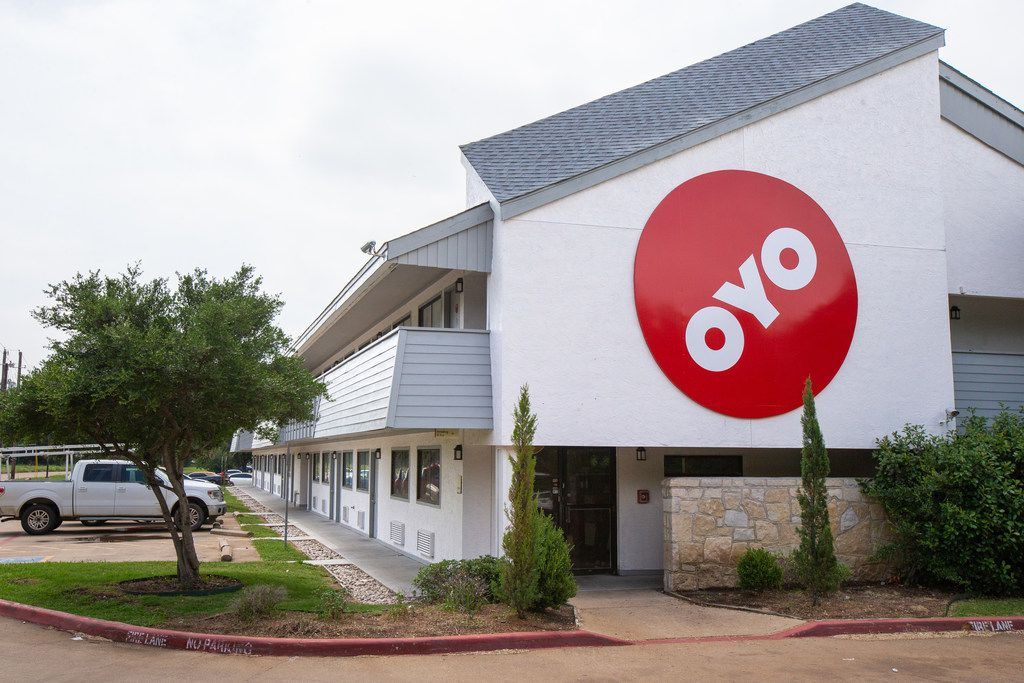 One of Oyo's rebranded hotels in the Dallas area.