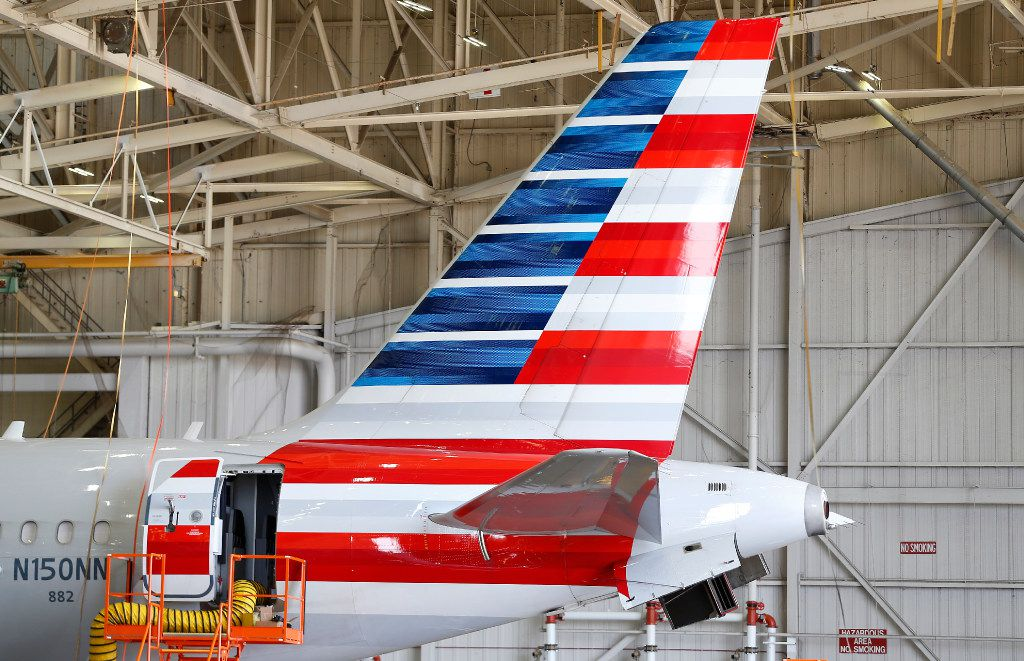 American Airlines' Tulsa base employs more than 5,000 workers.