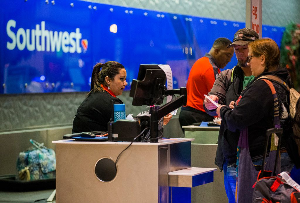 Southwest Airlines brought new service and low fares to Love Field in late 2014, leading to a surge in local passenger traffic and huge savings on tickets. Researchers concluded that the so-called Southwest effect is alive and well. (Ashley Landis/The Dallas Morning News)