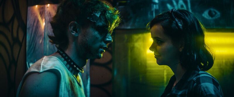 Dave Davis and Maemae Renfrow in Bomb City