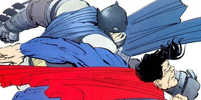 "A scene from Frank Miller's ""Dark Knight Returns"" might as well be a still from ""Batman v Superman."""