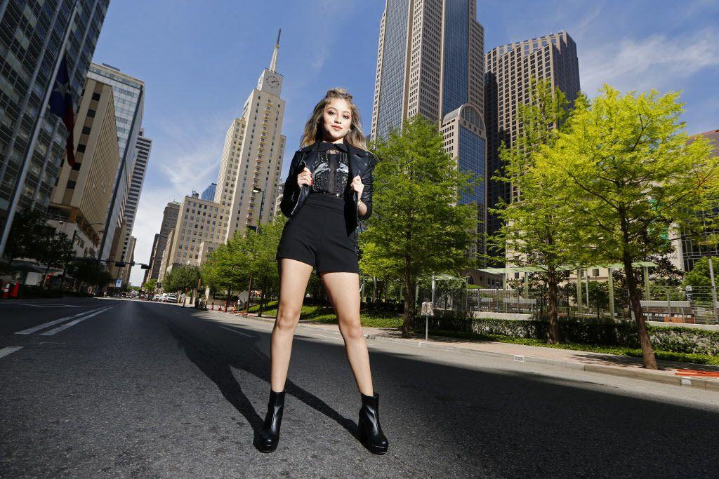 Karol Sevilla estuvo en Dallas en abril para promover su show Soy Luna. Su presentación fue cancelada, anunció The Theatre at Grand Prairie.  (Nathan Hunsinger/The Dallas Morning News)