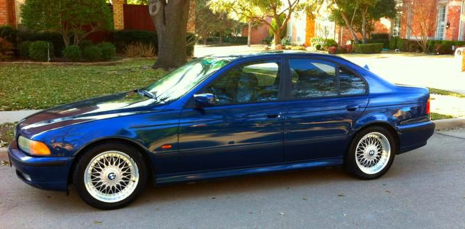 The midnight blue 2000 BMW was already well-traveled when the Tomasos bought it.