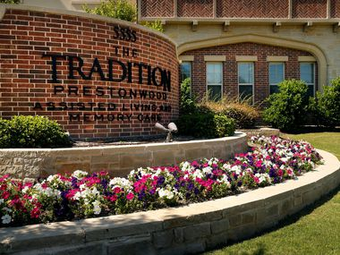 The Tradition-Prestonwood Assisted Living and Memory Care at 5555 Arapaho Rd. in Dallas, Thursday, May 16, 2019. (Tom Fox/The Dallas Morning News)