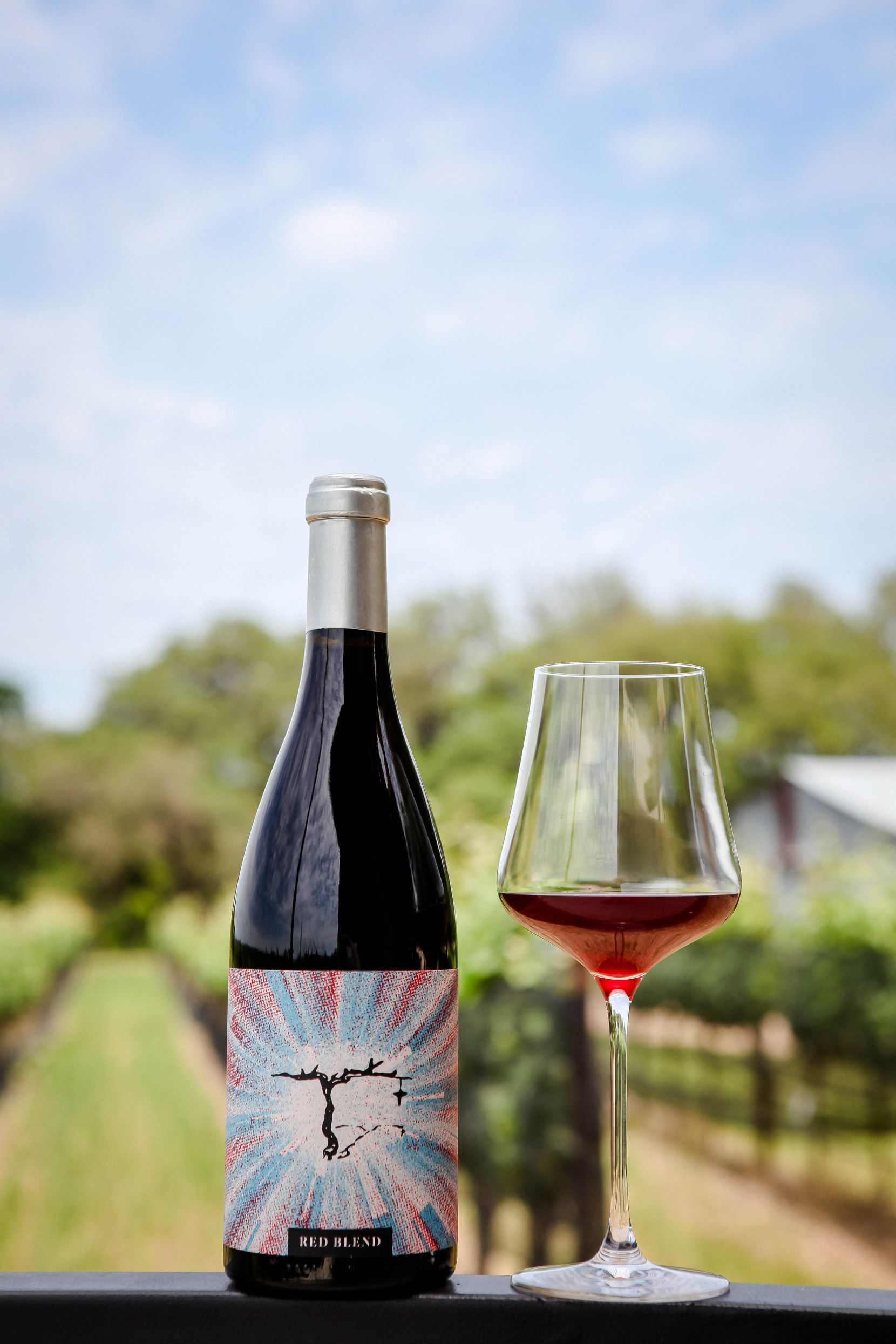 William Chris Vineyards in the Texas Hill Country recently launched its 2019 Wanderer Series Relief Project Red Blend.
