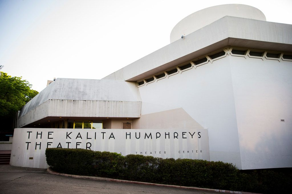 The Kalita Humphreys Theater on Wednesday, April 4, 2018 Dallas.