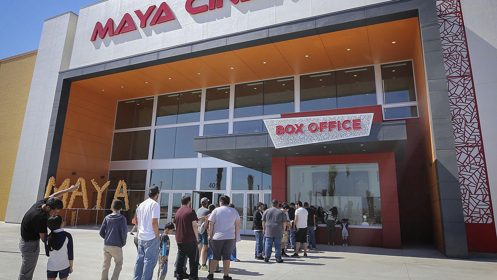 El complejo de Maya Cinemas Theater en Delano, California.(AP)