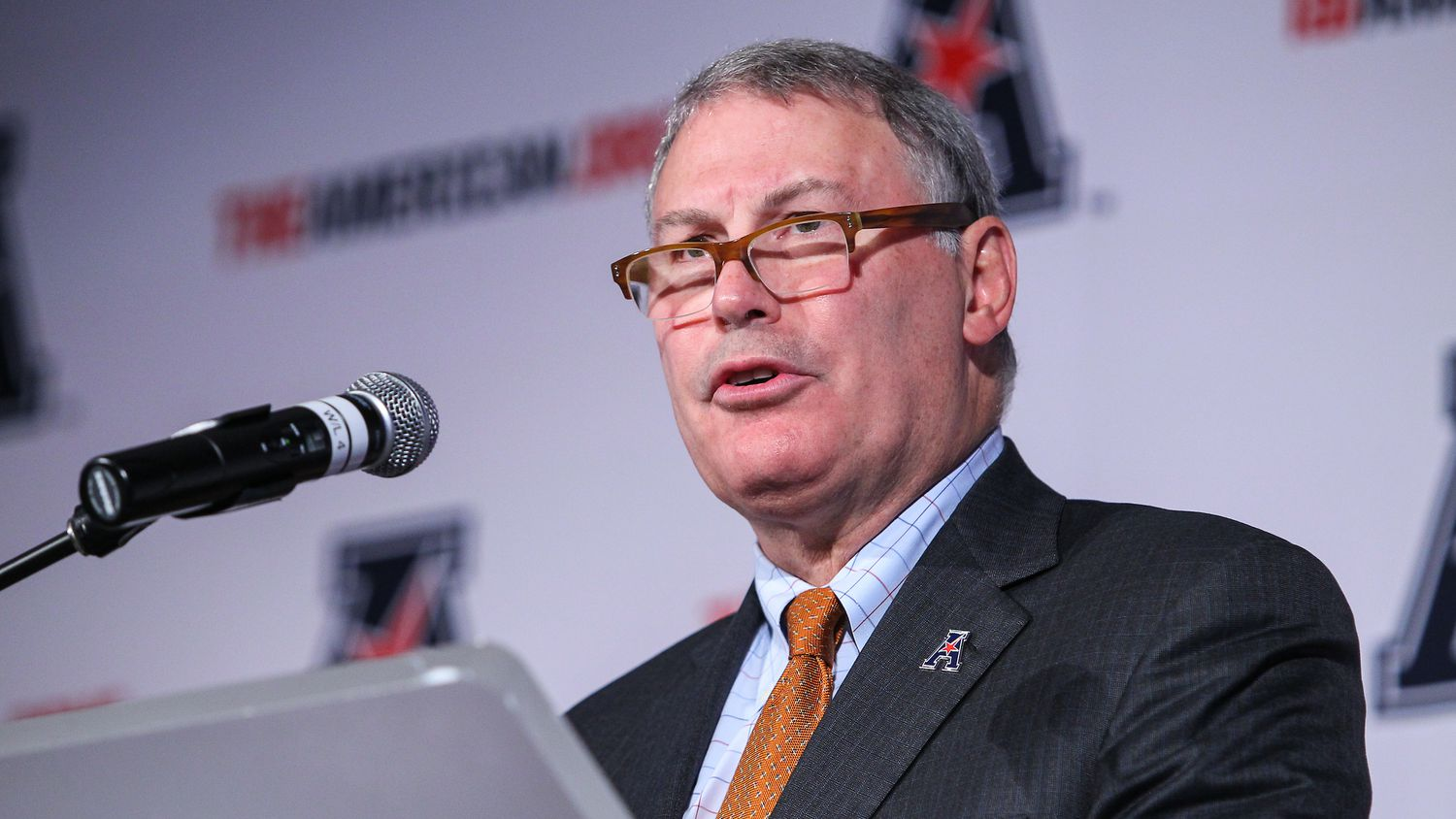American Athletic Conference commissioner Mike Aresco spoke to The Dallas Morning News about football expansion and basketball season. (Courtesy of the AAC)