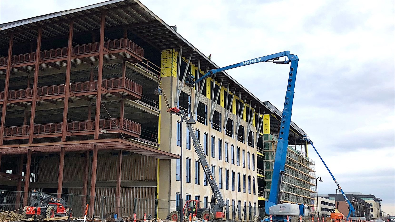 More than 5 million square feet of office space is being built in North Texas.
