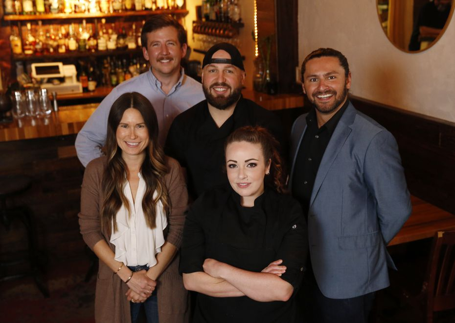 (From left) Kat Moulder, Nic Cain, Taylor Rause, Ashley Hainge and Tanner Agar are behind the expansion of Rye restaurant from McKinney to Dallas.