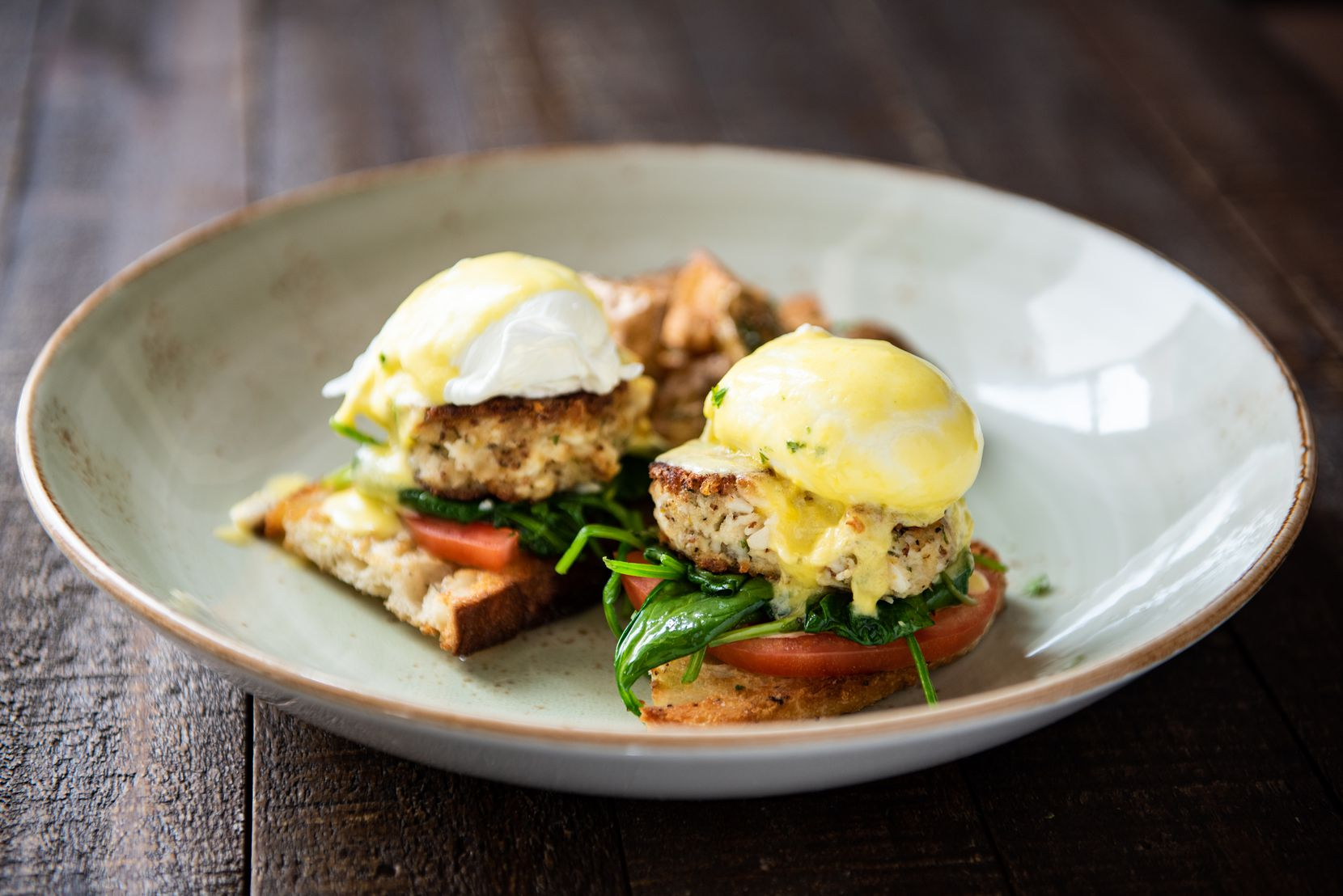 Crú Food and Wine Bar is offering a Mother's Day menu that includes crab cake Benedict.