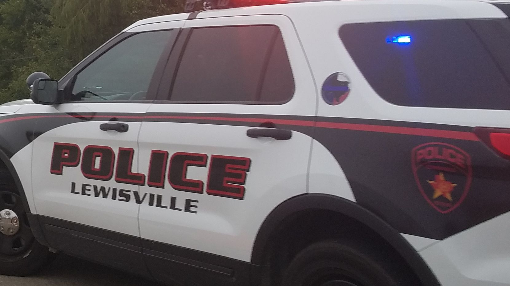 A Lewisville police car is pictured in this file photo.