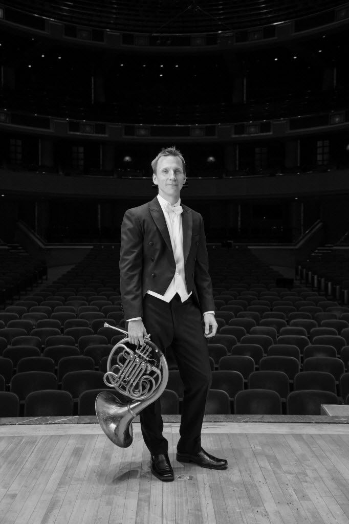 Dallas Symphony Orchestra's principal French horn David Cooper