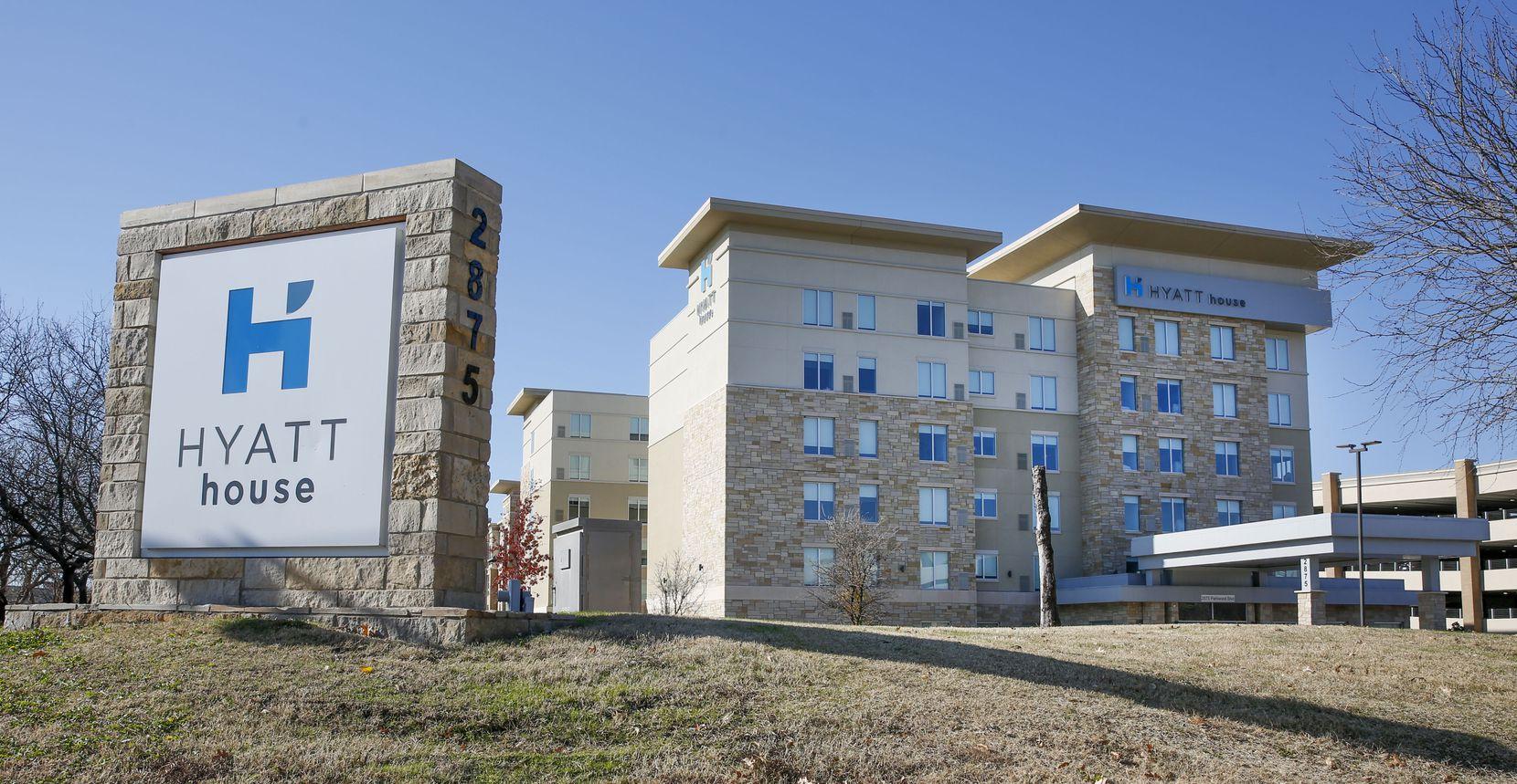 The Hyatt House Frisco is part of Lewisville-based NewcrestImage's portfolio.