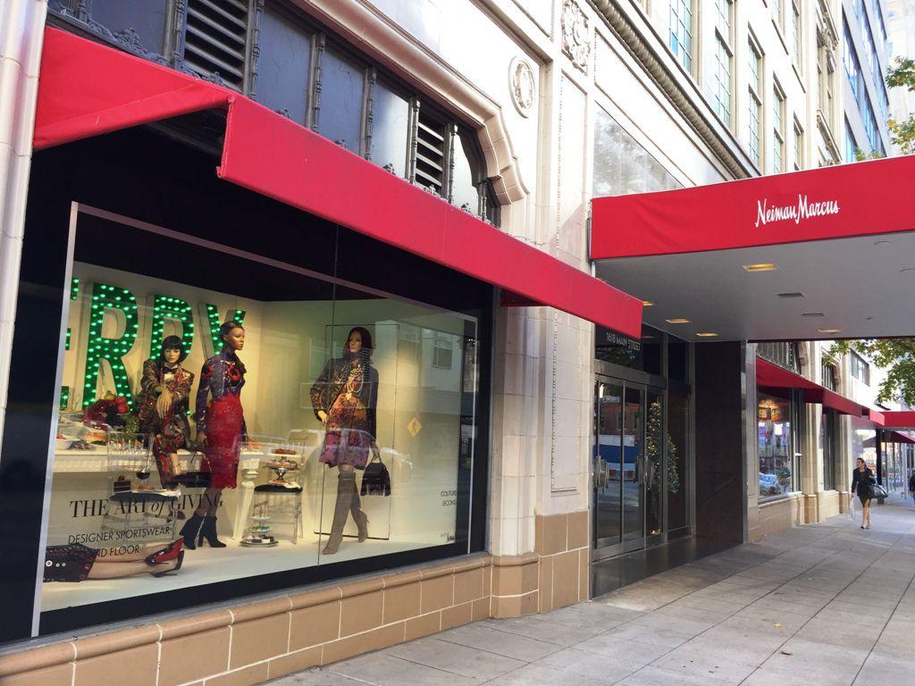 Downtown Dallas Neiman Marcus store in December 2015. (DMN staff photo)