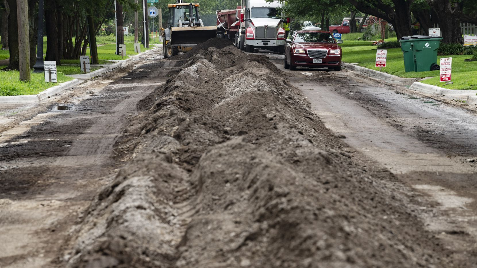 Five residential streets in Arlington will be rebuilt this summer as part of a project to replace streets beyond general maintenance.