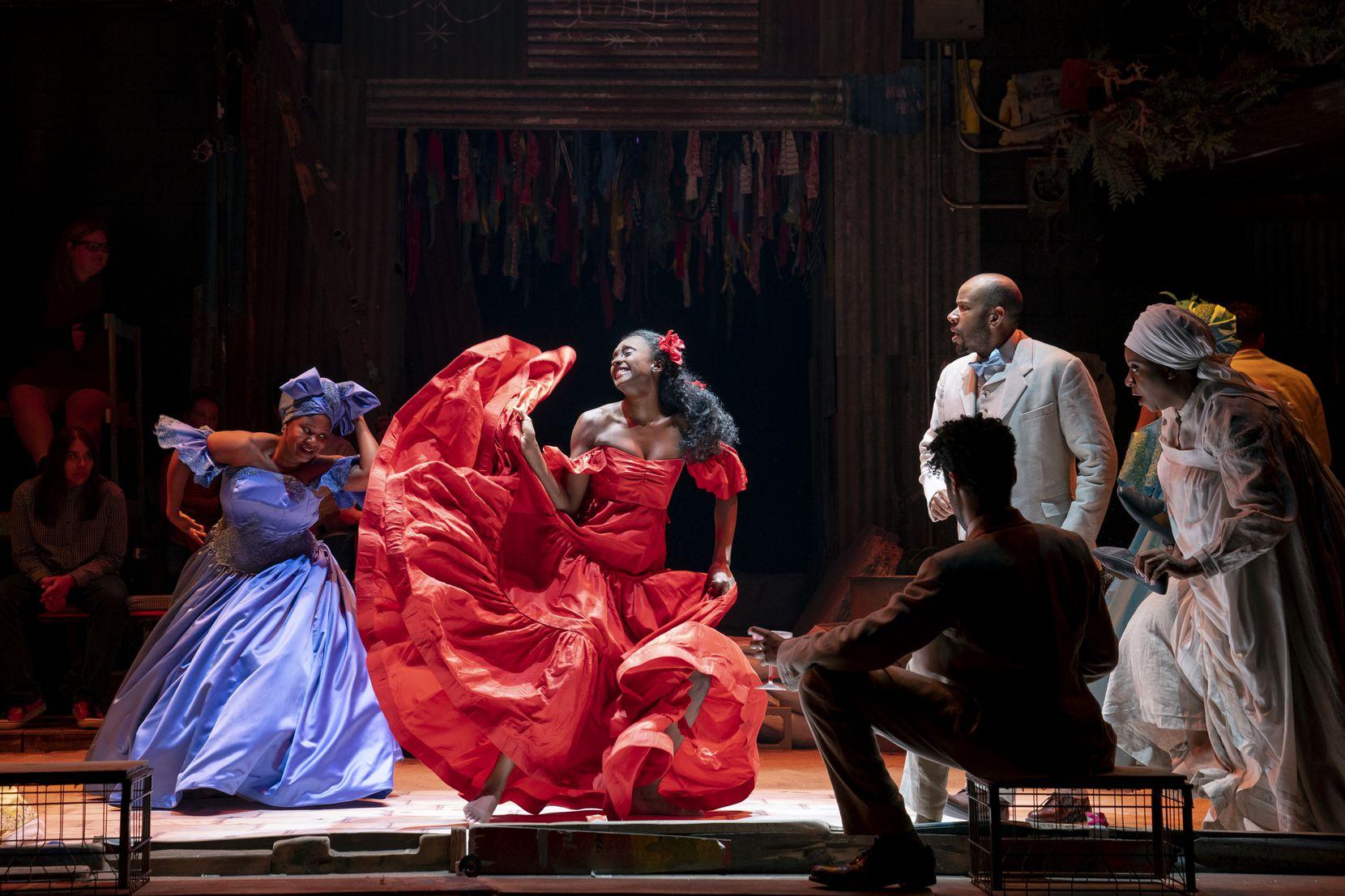 """Acclaimed choreographer Camilla A. Brown created the dance movement for the 2017 Broadway revival of """"Once on This Island"""" now touring North America."""