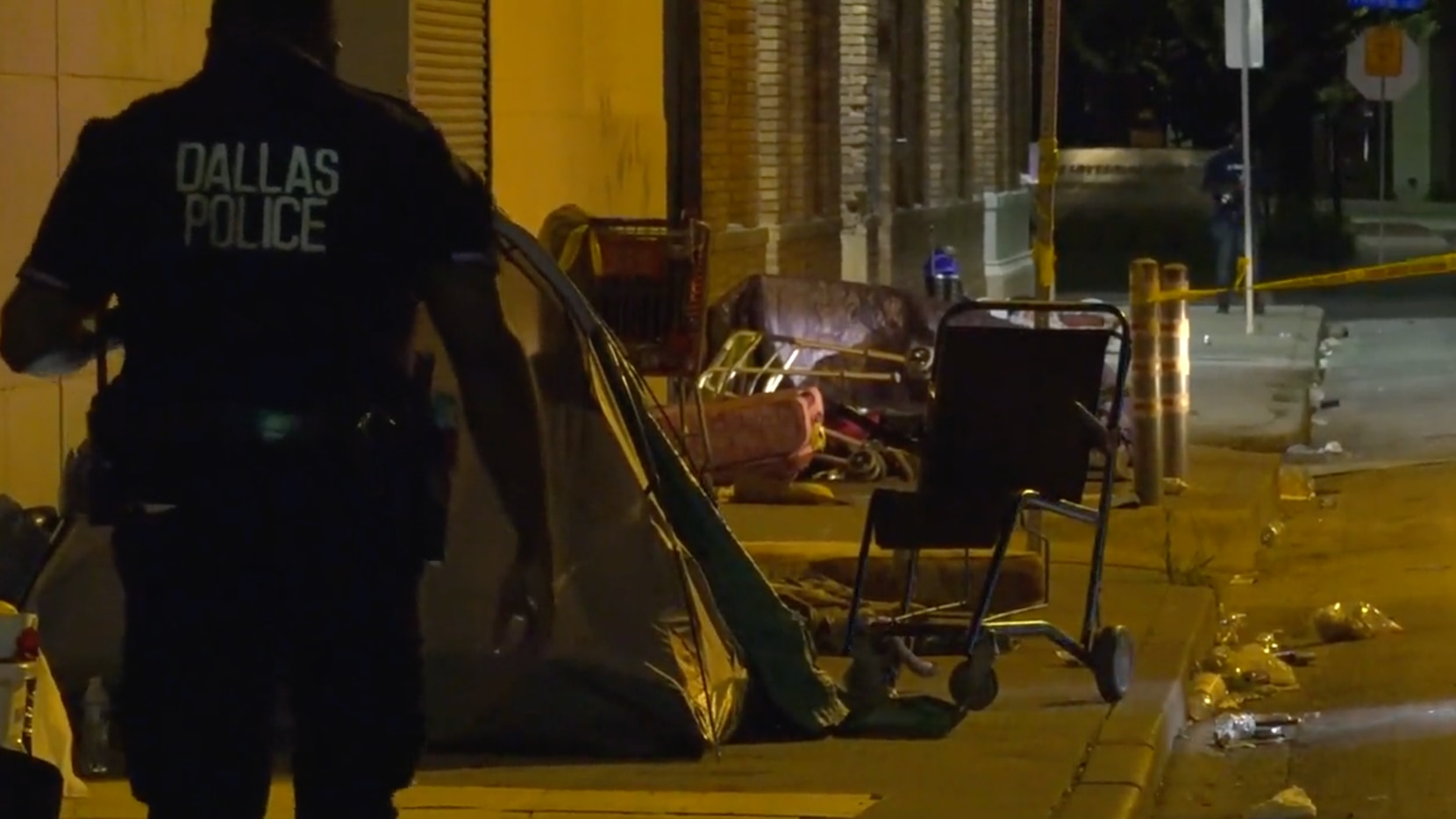 A person was fatally shot in August at a downtown homeless encampment, Dallas police said.