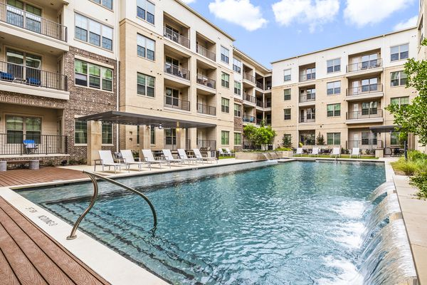 The Elan Addison Grove apartments are on Belt Line Road.