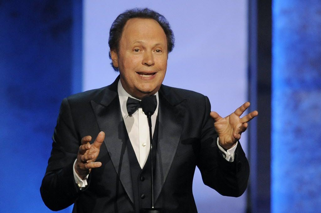 """FILE - In this June 6, 2013 file photo, Billy Crystal addresses the audience during the American Film Institute's 41st Lifetime Achievement Award Gala honoring Mel Brooks in Los Angeles. Crystal's one-man autobiographical show """"700 Sundays"""" is returning to Broadway. Previews begin in November. (Photo by Chris Pizello/Invision/AP, File) 08292013xARTSLIFE"""