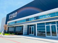 The exterior of the recently opened Studio Movie Grill Chisholm Trail in Fort Worth.