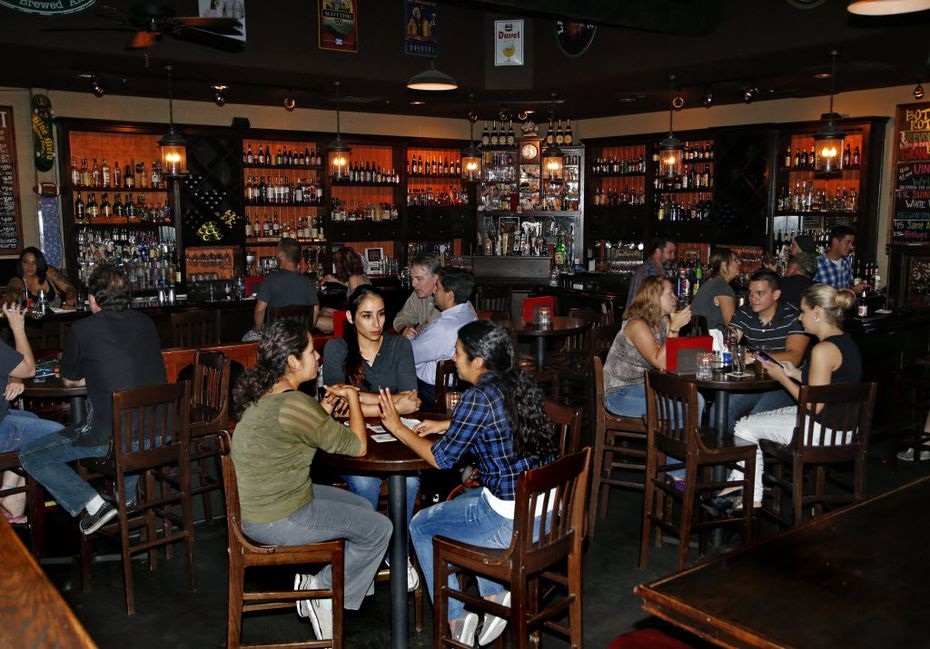 The Fillmore Pub is a Plano favorite.