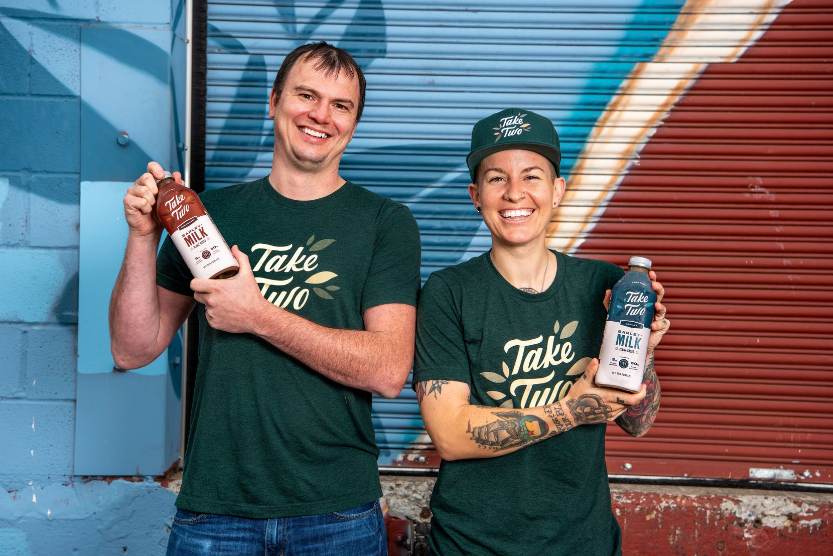 Take Two is a barleymilk made from spent beer grains.