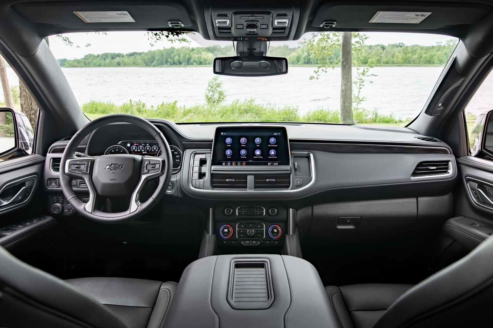 2021 Chevrolet Suburban dashboard.