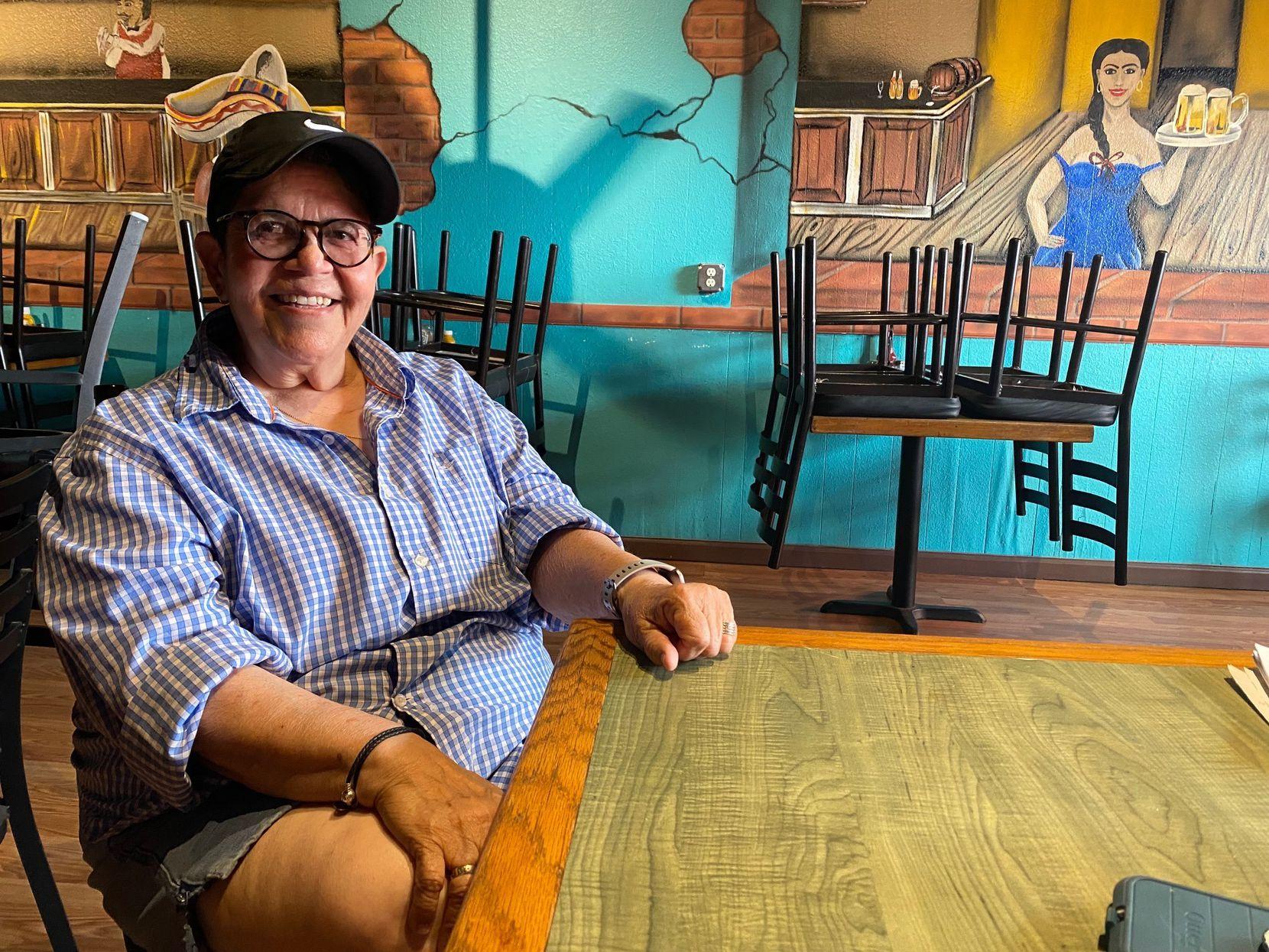 Gilda Morales, co propietaria del bar Cactus Cantina and Grill.