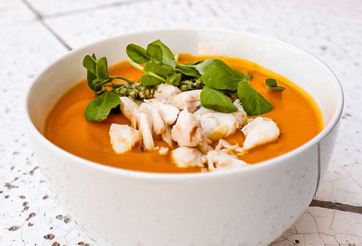 Chef Anastacia-Quinones Pittman shares her recipe for Carrot Habanero soup.
