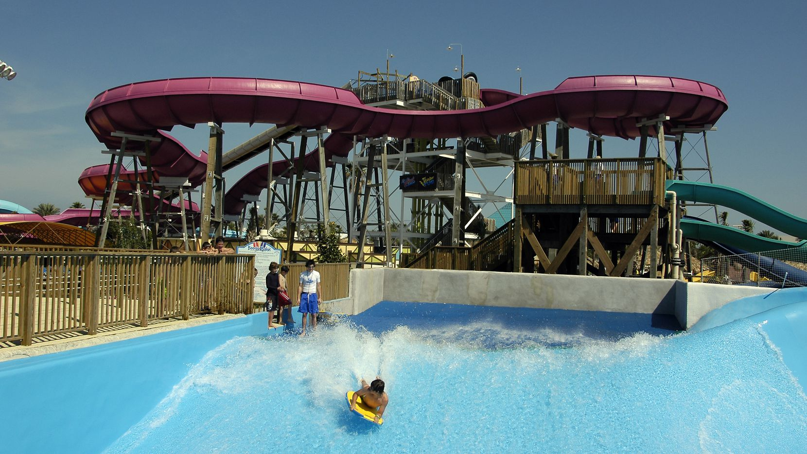 Schlitterbahn is celebrating 10 years since its water park opened in Galveston. It will unveil the world's tallest water coaster this summer.