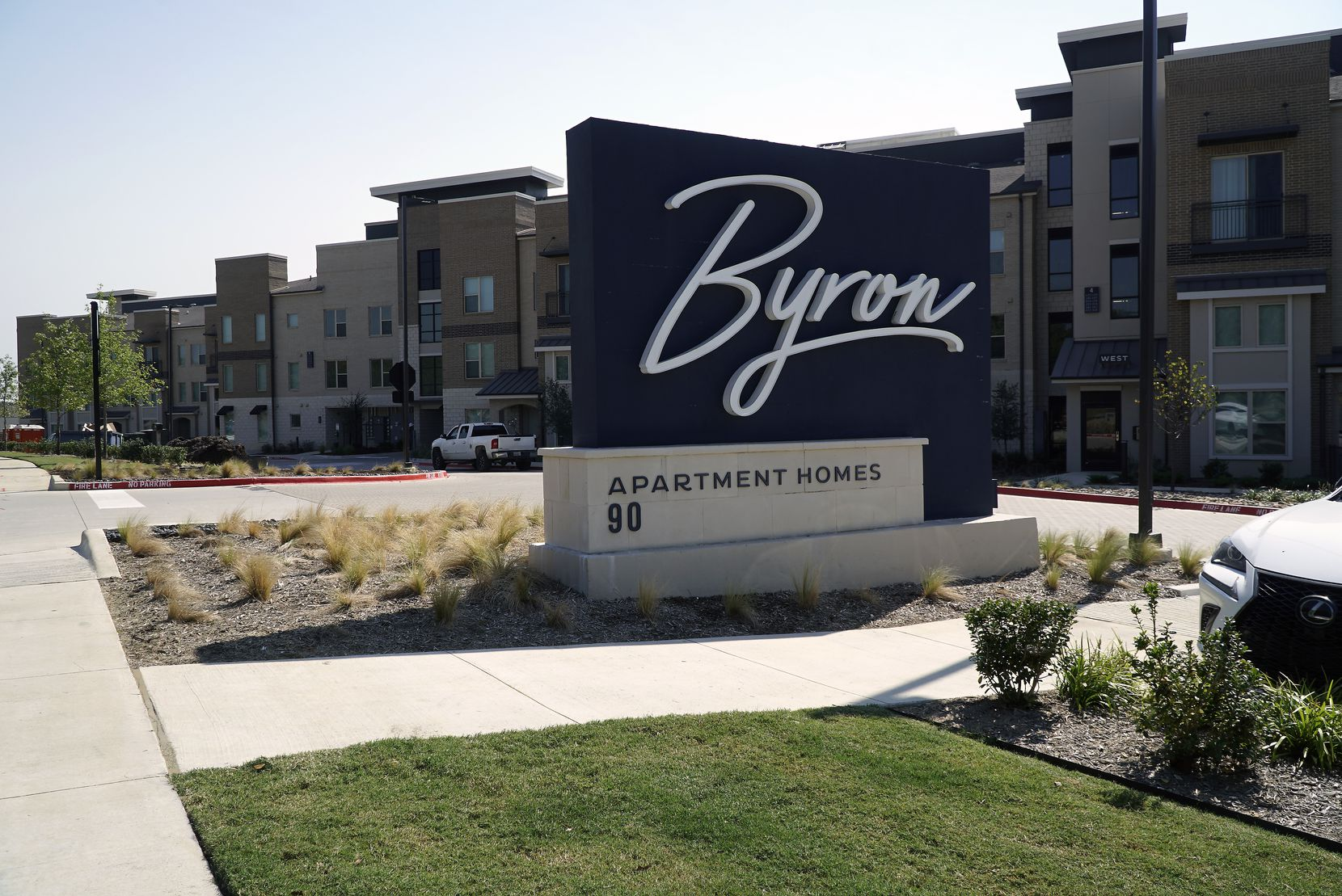 """The """"Byron"""" apartment complex in Trophy Club. The name was changed after objections by Byron Nelson's widow."""