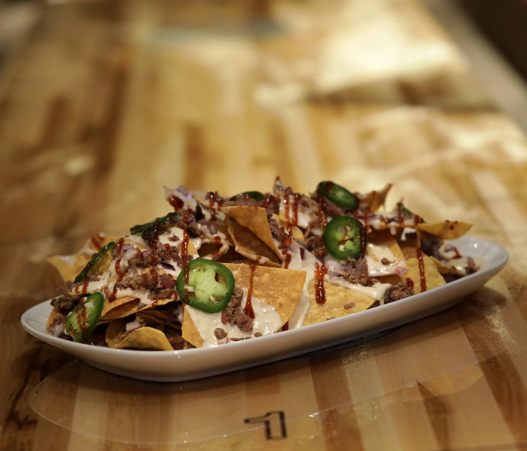 Brisket nachos and a movie? They have 'em at Frisco's new movie theater.