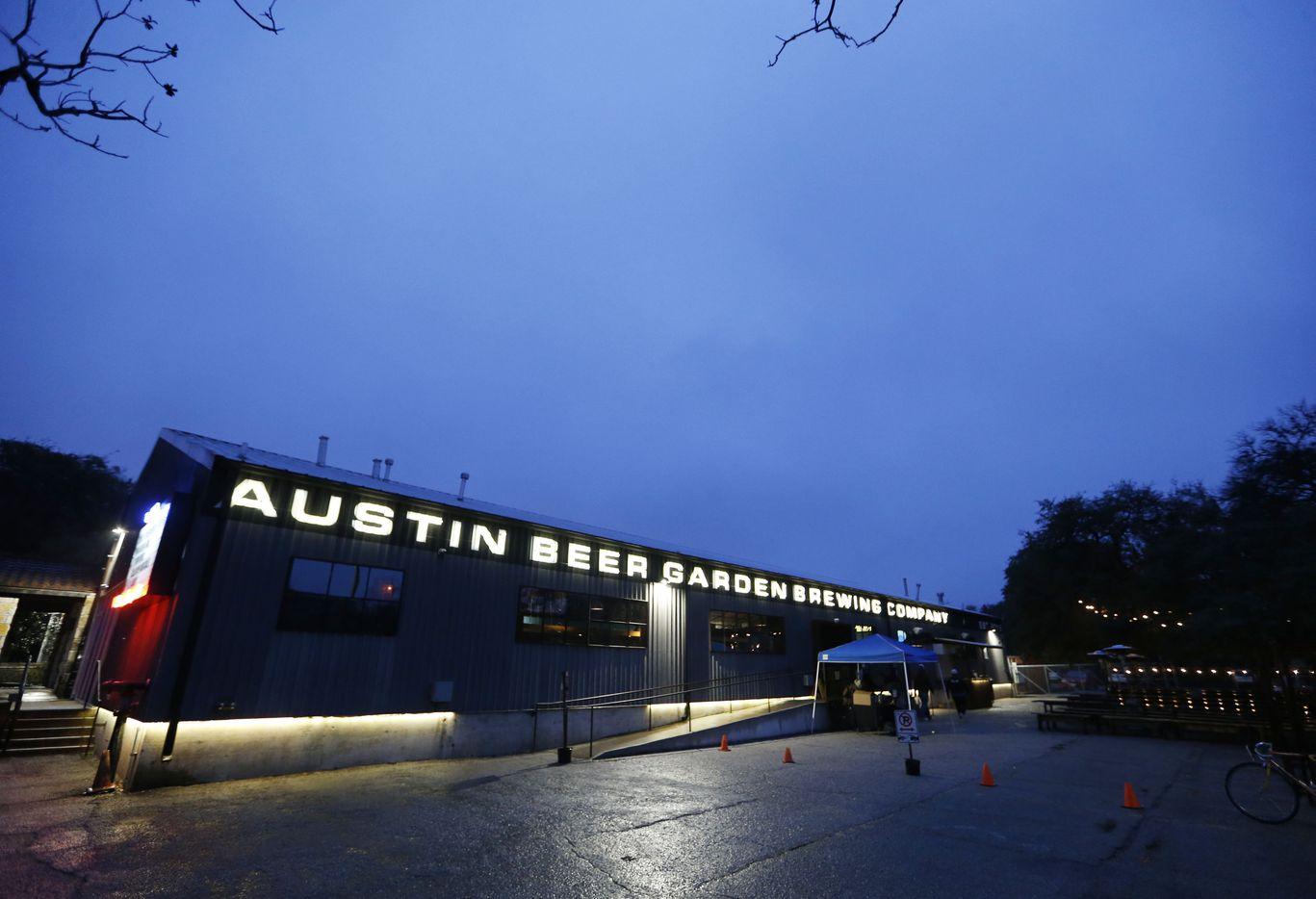 Austin Beer Garden Brewing Company in Austin