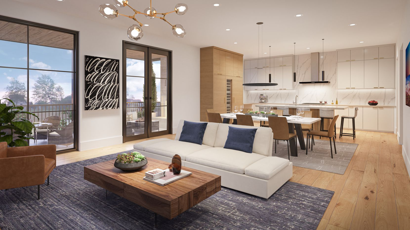 The City Homes condos will range from 2,199 to 2,629 square feet.