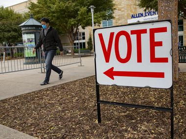Early voting begins April 19 in Arlington and elsewhere.