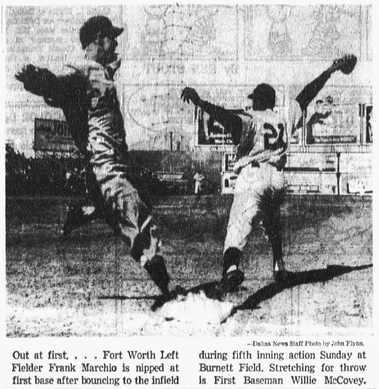 From The Dallas Morning News, 1957