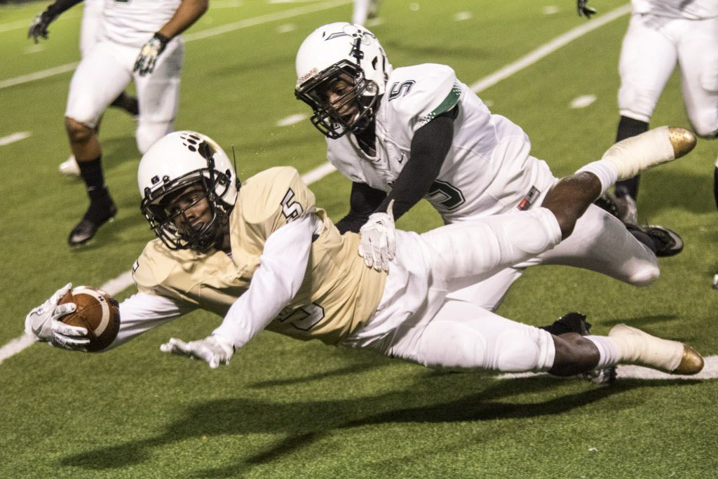 South Oak Cliff wide receiver Mar'Kiese King is heading to a Kansas community college for 18 months. From there, he hopes to move on to a bigger program.