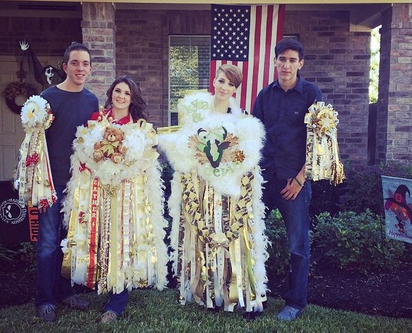 Hoco2016 Ginormous Texas Homecoming Mums We Secretly Want